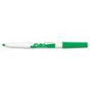 SAN84004 Dry Erase Marker, Fine Point, Green, Dozen SAN 84004