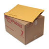 SEL49284 Jiffy Padded Mailer, Side Seam, #7, 14 1/4 x 20, Golden Brown, 50/Carton SEL 49284
