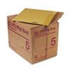 SEL49392 Jiffy Rigi Bag Mailer, Side Seam, #5, 10 1/2 x 14, Golden Brown, 150/Carton SEL 49392