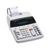 Sharp EL2192RII Two-Color Roller Printing Calculator, 12-Digit Fluorescent, Black/Red