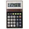 SHRELR277BBK EL-R277BBK Recycled Series Handheld Calculator, 8-Digit, LCD, Black SHR ELR277BBK