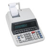 SHRQS2770H QS2770H Two-Color Ribbon Printing Calculator, 12-Digit Fluorescent, Black/Red SHR QS2770H
