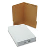 SJPS12551 Reinforced Kraft Folders, One Fastener, 1/3 Cut Top Tab, Legal, Brown, 50/Box SJP S12551