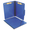 SJPS57003 Pressboard Folios with Two Fasteners/Closure, Letter, Pacific Blue, 15/Box SJP S57003