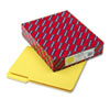 SMD10271 Interior File Folders, 1/3 Cut Top Tab, Letter, Yellow, 100/Box SMD 10271