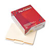 SMD10336 File Folder, 1/3 Cut Second Position, Reinforced Top Tab Letter, Manila, 100/Box SMD 10336