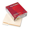 SMD10337 File Folder, 1/3 Cut Third Position, Reinforced Top Tab, Letter, Manila, 100/Box SMD 10337