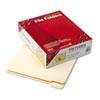 SMD10356 File Folders, 1/5 Cut, Reinforced Top Tab, Letter, Manila, 100/Box SMD 10356
