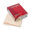 SMD10388 Guide Height File Folders, 2/5 Cut, Two-Ply Top Tab, Letter, Manila, 100/Box SMD 10388