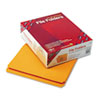 SMD12210 File Folders, Straight Cut, Reinforced Top Tab, Letter, Goldenrod, 100/Box SMD 12210