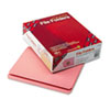 SMD12610 File Folders, Straight Cut, Reinforced Top Tab, Letter, Pink, 100/Box SMD 12610