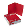 SMD12740 Folders, Two Fasteners, 1/3 Cut Assorted, Top Tab, Letter, Red, 50/Box SMD 12740