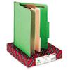 Smead Colored Top Tab Classification Folders