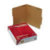 SMD14880 11 Point Kraft Folders, Two Fasteners, 2/5 Cut Top Tab, Letter, Brown, 50/Box SMD 14880