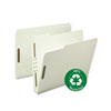SMD15004 Recycled Pressboard Fastener Folders, Letter, 2