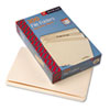 SMD15300 File Folders, Straight Cut, One-Ply Top Tab, Legal, Manila, 100/Box SMD 15300