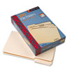 SMD15330 1/3 Cut Assorted Position File Folders, One-Ply Top Tab, Legal, Manila, 100/Box SMD 15330