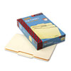 SMD15332 File Folders, 1/3 Cut Second Position, One-Ply Top Tab, Legal, Manila, 100/Box SMD 15332