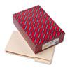 SMD15405 Heavyweight File Folders, 1/3 Tab, 1 1/2 Inch Expansion, Legal, Manila, 50/Box SMD 15405