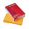 SMD17234 File Folders, 1/3 Cut, Reinforced Top Tab, Legal, Goldenrod, 100/Box SMD 17234