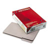 SMD17334 File Folders, 1/3 Cut, Reinforced Top Tab, Legal, Gray, 100/Box SMD 17334