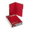 SMD17740 Folders, Two Fasteners, 1/3 Cut Assorted, Top Tab, Legal, Red, 50/Box SMD 17740