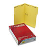 SMD17940 Folders, Two Fasteners, 1/3 Cut Assorted, Top Tab, Legal, Yellow, 50/Box SMD 17940