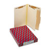SMD18700 Manila Classification Folders with 2/5 Right Tab, Legal, Four-Section, 10/Box SMD 18700