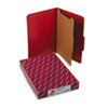 Smead® Four-Section Pressboard Top Tab Classification Folders with SafeSHIELD® Coated Fastener | www.SelectOfficeProducts.com
