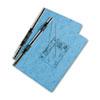 ACC54042 Pressboard Hanging Data Binder, 14-7/8 x 8-1/2, Light Blue ACC 54042