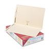 SMD19513 Folders, Two Fasteners, Straight Cut, Top Tab, Legal, Manila, 50/Box SMD 19513