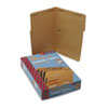 SMD19837 11 Point Kraft Folders, Two Fasteners, 1/3 Cut Top Tab, Legal, Brown, 50/Box SMD 19837