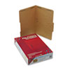 SMD19880 11 Point Kraft Folders, Two Fasteners, 2/5 Cut Rt, Top Tab, Legal, Brown, 50/Box SMD 19880