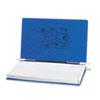 ACC54043 Pressboard Hanging Data Binder, 14-7/8 x 8-1/2 Unburst Sheets, Dark Blue ACC 54043