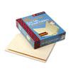 SMD24115 Folders, Front Interior Pocket, Straight End Tab, Letter, Manila, 50/Box SMD 24115