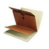 SMD26861 Extra-Heavy Pressboard End Tab Classification Folders, Letter, 10/Box SMD 26861
