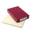 SMD27100 Shelf Folders, Straight Cut, Single-Ply End Tab, Legal, Manila, 100/Box SMD 27100