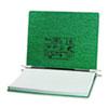 ACC54076 Pressboard Hanging Data Binder, 14-7/8 x 11 Unburst Sheets, Dark Green ACC 54076