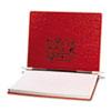 ACC54079 Pressboard Hanging Data Binder, 14-7/8 x 11, Executive Red ACC 54079