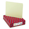 SMD50334 Green Recycled Tab File Guides, Blank, 1/3 Tab, Pressboard, Letter, 100/Box SMD 50334