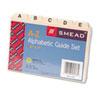 Smead Manila Card Guides