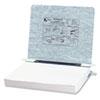 ACC54124 Pressboard Hanging Data Binder, 11 x 8-1/2 Unburst Sheets, Light Gray ACC 54124