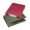 SMD64379 Three Inch Capacity Box Bottom Hanging File Folders, Legal, Green, 25/Box SMD 64379