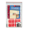 SMD67179 Alpha-Z Color-Coded Second Letter Labels, Letter I, Pink, 100/Pack SMD 67179