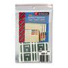 SMD67190 Alpha-Z Color-Coded Second Letter Labels, Letter T, Gray, 100/Pack SMD 67190