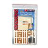 SMD67194 Alpha-Z Color-Coded Second Letter Labels, Letter X, Light Brown, 100/Pack SMD 67194