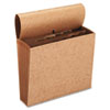 SMD70186 Jan-Dec Indexed Accordion Expanding Files, 12 Pockets, Kraft, Letter, Brown SMD 70186