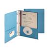 SMD88052 Paper Two-Pocket Portfolio, Tang Clip, Letter, 1/2