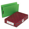 SMDF2150CGN2K13 Top Tab Fastener File Folder, 11 Point Paperboard, Straight Cut, Green, 50/Box SMD F2150CGN2K13
