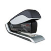 Quantum 25-sheet capacity stapler features patented spring-powered, reduced-force stapling and sleek, contemporary lines.